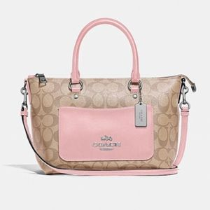 NWT COACH Mini Emma Satchel